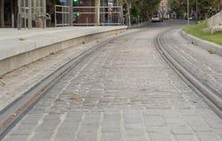 Ulica w mieście Obrazy Royalty Free