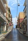 Ulica w niebie Zdjęcia Stock