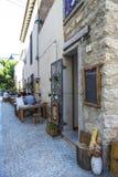 Ulica w Olbia, Sardinia, Włochy obrazy stock
