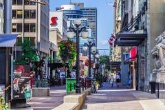 Ulica w Ottawa Obraz Stock