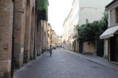 Ulica w Padova Fotografia Royalty Free