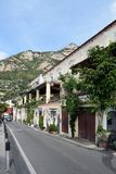 Ulica w Positano zdjęcie stock