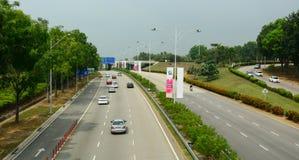 Ulica w Putrajaya, Malezja Zdjęcia Stock