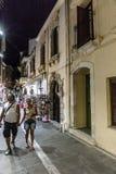 Ulica w Rethymno Zdjęcie Royalty Free