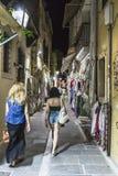 Ulica w Rethymno Obraz Royalty Free