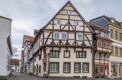 Ulica w Soest, Niemcy obraz royalty free