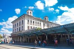 Ulica w starej części Hawański, Kuba Fotografia Royalty Free