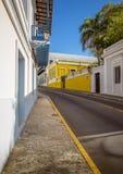 Ulica w stary San Juan, Puerto Rico Fotografia Royalty Free