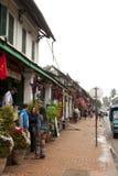 Ulica w starym grodzkim Luang Prabang Obraz Stock