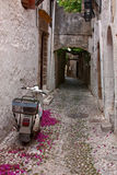 Ulica w starym tawn Zdjęcie Royalty Free