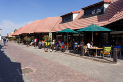 Ulica w Swakopmund citz, Namibia Obrazy Stock