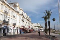 Ulica w Tangier, Maroko zdjęcie stock