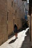 Ulica w Trogir Fotografia Royalty Free