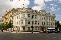 Ulica w Vilnius. Zdjęcia Stock