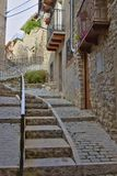 Ulica w wiosce Baga Fotografia Royalty Free