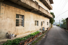 Ulica w wsi Nantou zdjęcia royalty free