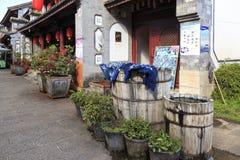 Ulica w Xizhou Chiny obrazy stock