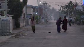 Ulica w Yangon, Myanmar zdjęcie wideo