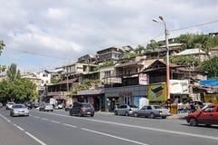 Ulica w Yerevan Obraz Royalty Free