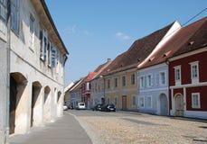 Ulica w Złym Radkersburg Zdjęcie Royalty Free