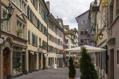 Ulica w Zurich Obraz Stock