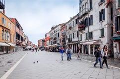 ulica Wenecji Zdjęcia Royalty Free
