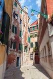 ulica Wenecji Fotografia Royalty Free