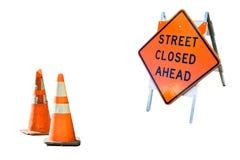 Ulica zamykająca naprzód Obraz Royalty Free