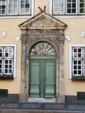 ulice miasta Riga starego miasta. Fotografia Stock