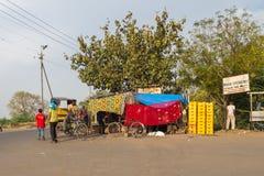 Ulicy Agra, India Zdjęcie Royalty Free