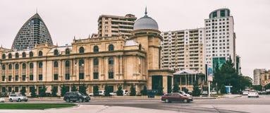Ulicy Baku miasto fotografia royalty free