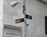 ulicy ściana Obrazy Royalty Free