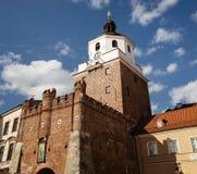Ulicy i architektura stary miasto Lublin Zdjęcie Royalty Free