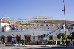 Ulicy i kąty Seville andalusia Hiszpania zdjęcia stock
