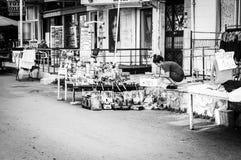 Ulicy I ludzie Turecki wakacje miasteczko Obrazy Royalty Free