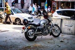 Ulicy I ludzie Turecki wakacje miasteczko Zdjęcie Stock