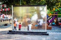 Ulicy I ludzie Turecki wakacje miasteczko Zdjęcie Royalty Free