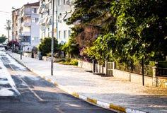 Ulicy I ludzie Turecki wakacje miasteczko Obraz Royalty Free