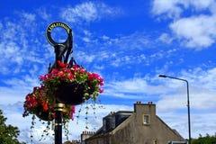 Ulicy Linlinthgow w Szkocja w UK 06 08 2015 Obrazy Stock