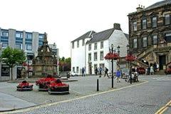 Ulicy Linlinthgow w Szkocja w UK 06 08 2015 Zdjęcia Stock