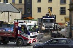 Ulicy Linlinthgow w Szkocja w UK 06 08 2015 Zdjęcie Stock
