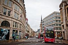 Ulicy Londyn Obrazy Royalty Free