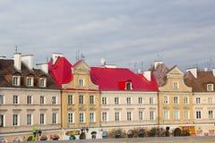 Ulicy Lublin stary miasteczko obrazy royalty free