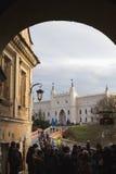 Ulicy Lublin stary miasteczko obraz stock