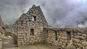 Ulicy Mach Picchu Obraz Stock