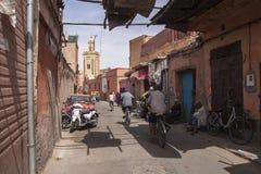 Ulicy Marrakesh Obraz Royalty Free