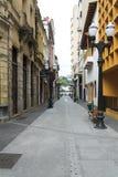 Ulicy miasto Santos Zdjęcia Royalty Free