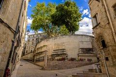 Ulicy Montpellier, Francja Obrazy Stock