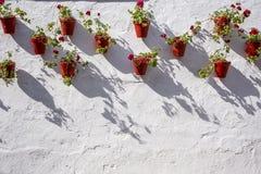 Ulicy, osaczają i szczegóły Marbella Hiszpania obrazy stock