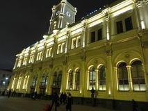 Ulicy Petersburg Rosja Atrakcja turystyczna Zdjęcie Royalty Free
